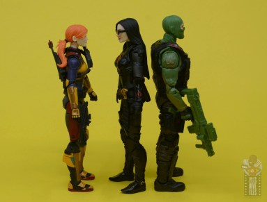 g.i. joe classified series baroness and cobra coil figure review -facing scarlett and beach head