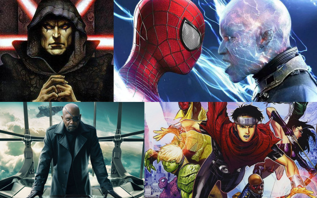 lyles movie files podcast ep. 161-nick fury, electro, darth bane