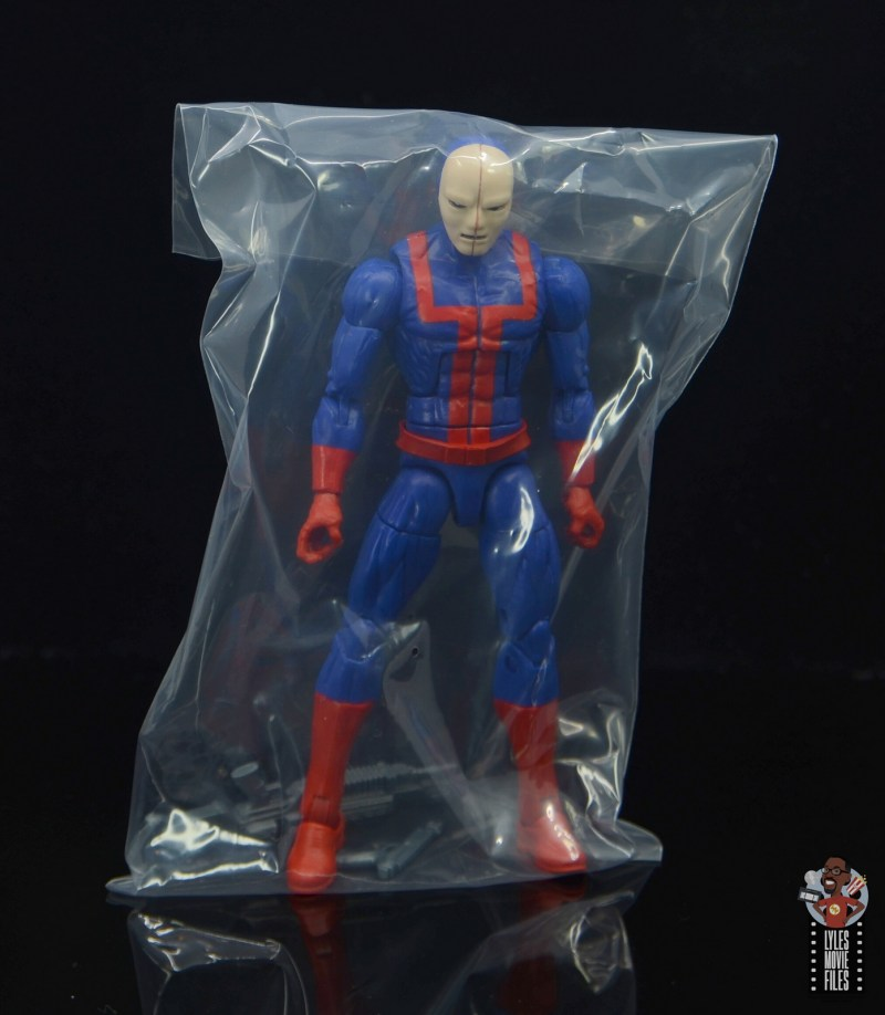 marvel legends hellfire club guard figure review -in baggie