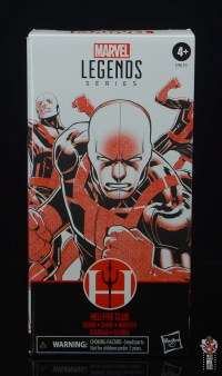 marvel legends hellfire club guard figure review - package front