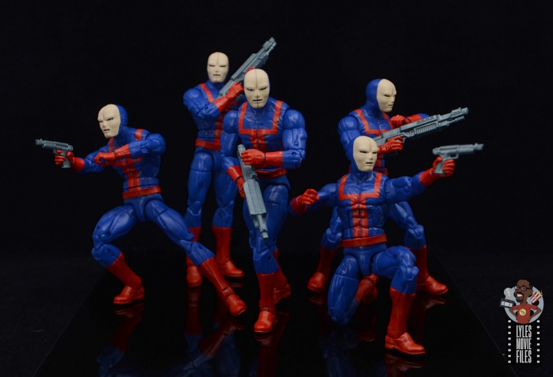 marvel legends hellfire club guard figure review - squad up