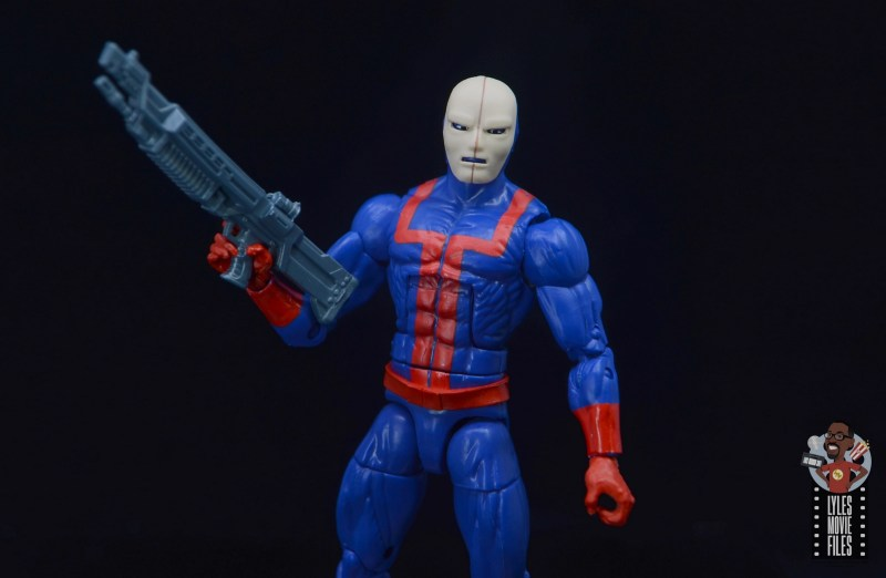 marvel legends hellfire club guard figure review -wide shot