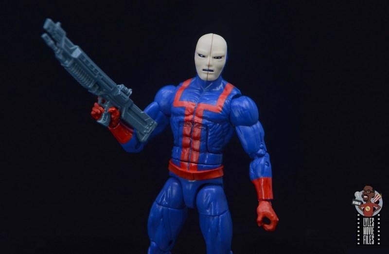 marvel legends hellfire club guard figure review -wide shot