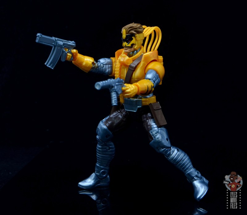 marvel legends maverick figure review - time for a firefight