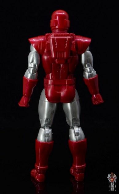 marvel legends silver centurion iron man figure review - rear