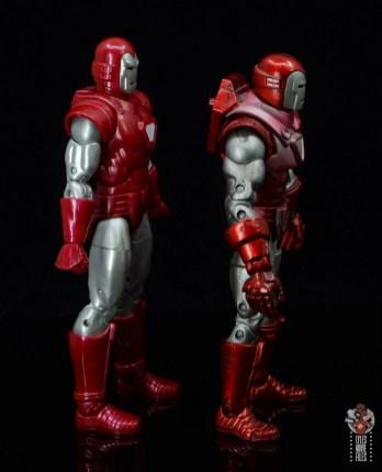 marvel legends silver centurion iron man figure review - right side toy biz silver centurion