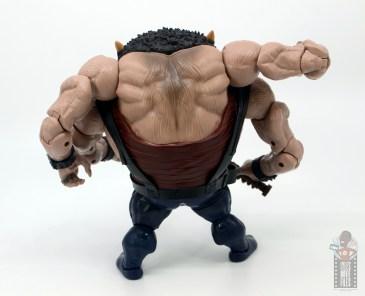 marvel legends sugar man build-a-figure review - rear