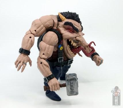 marvel legends sugar man build-a-figure review - right side
