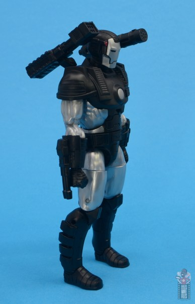 marvel legends war machine figure review - right side