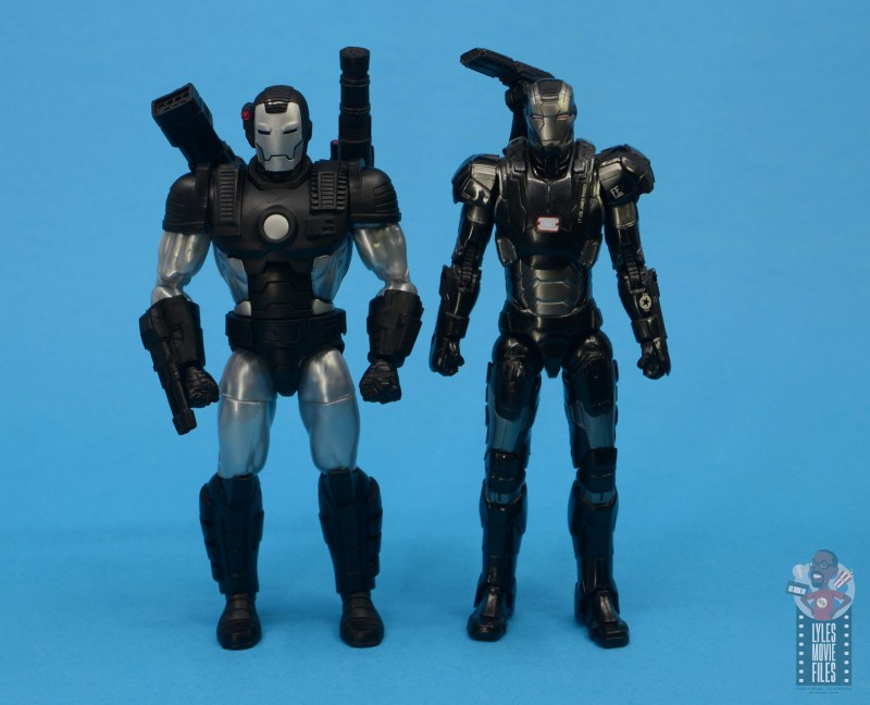 marvel legends war machine figure review - with mcu war machine