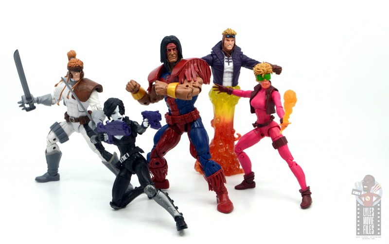 marvel legends warpath figure review - ready for battle with x-force