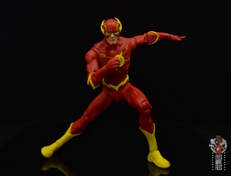 mcfarlane toys dc multiverse the flash figure review -about to take off
