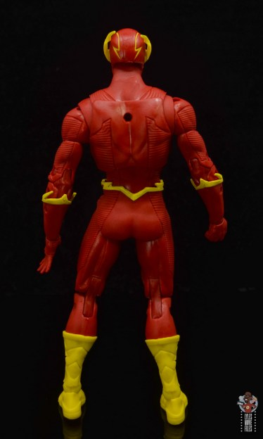 mcfarlane toys dc multiverse the flash figure review - rear