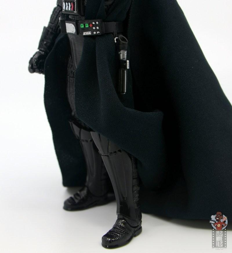 star wars the black series darth vader figure review - lightsaber hanging