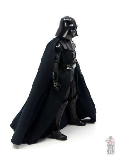 star wars the black series darth vader figure review - right side
