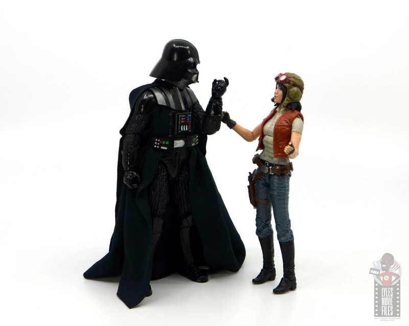 star wars the black series darth vader figure review - threatening doctor aphra