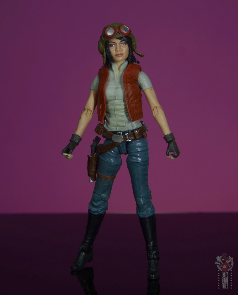 star wars the black series doctor aphra figure review - full shot