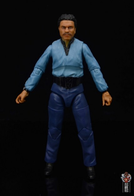 star wars the black series lando calrissian empire strikes back figure review - front