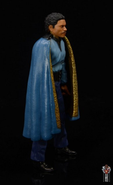 star wars the black series lando calrissian empire strikes back figure review - right side with cape