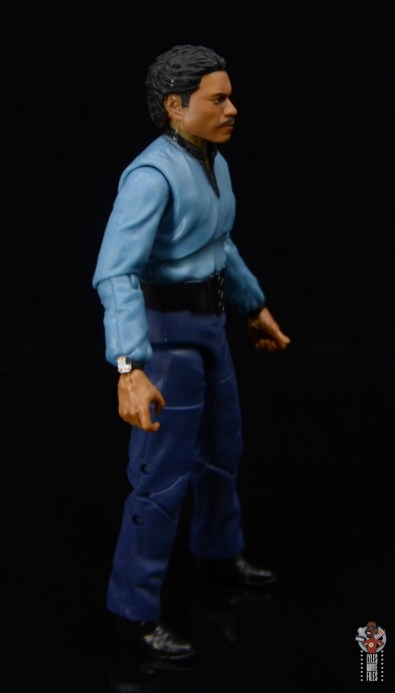 star wars the black series lando calrissian empire strikes back figure review - right side