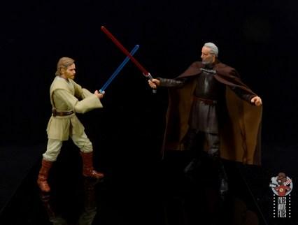 star wars the black series obi-wan kenobi figure review -vs count dooku