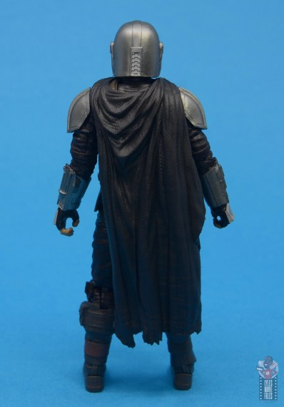 star wars the black series the mandalorian beskar armor figure review - rear