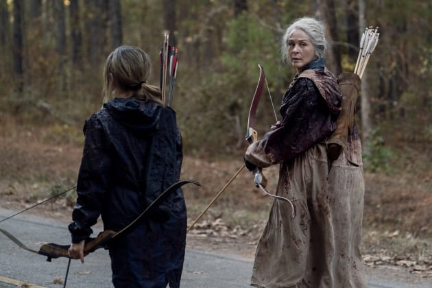 the walking dead a certain doom review - carol