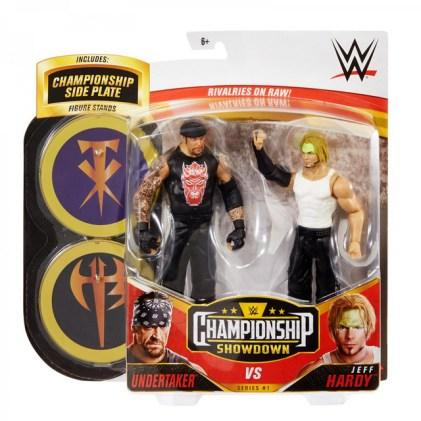wwe championship showdown series 1 the undertaker vs jeff hardy - front package