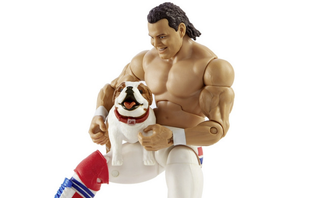 wwe elite 82 davey boy smith holding matilda