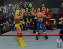 wwe elite classy freddie blassie figure review - tossing the cane goes wrong