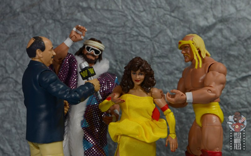 wwe elite series 77 miss elizabeth figure review - mean gene interviews the megapowers