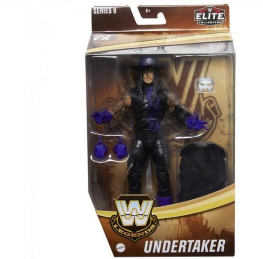 wwe legends 9 the undertaker in package