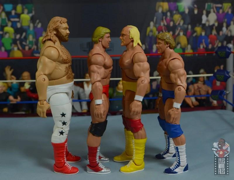 wwe legends series 8 paul orndorff figure review - facing big john studd, hulk hogan and first paul orndorff