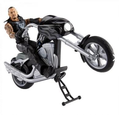 wwe slamcycle undertaker popping wheelie