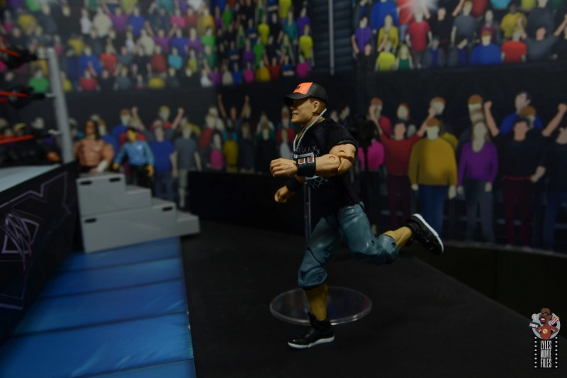 wwe ultimate edition john cena figure review - running to the ring