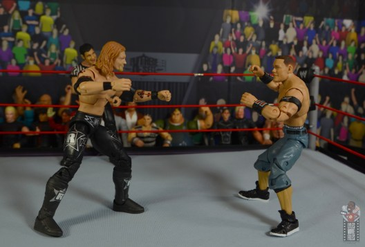 wwe ultimate edition john cena figure review - squaring off with edge