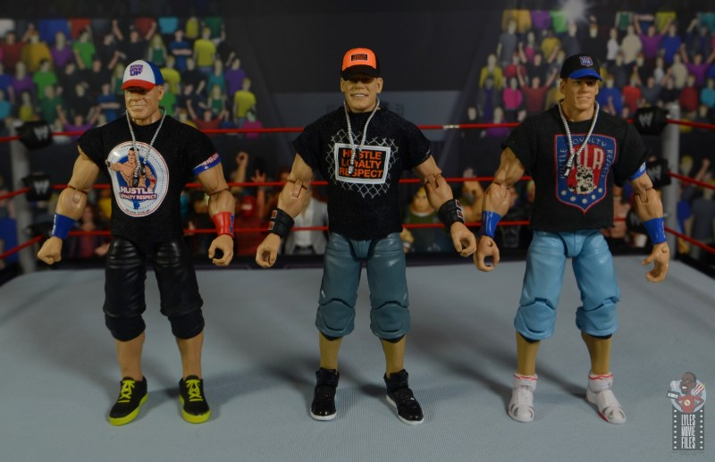 wwe ultimate edition john cena figure review - with other john cena elites