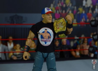 wwe ultimate edition john cena figure review - with vintage hustle loyalty respect outfit