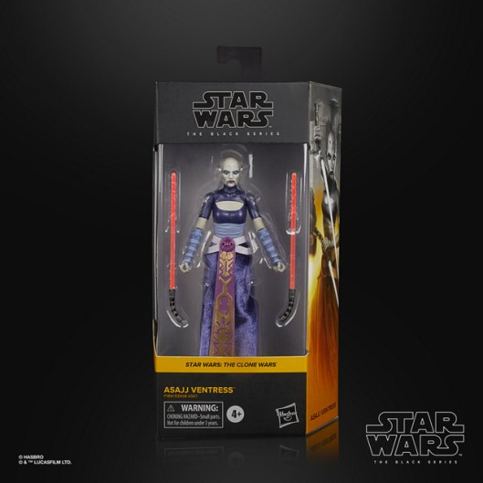 STAR WARS THE BLACK SERIES 6-INCH ASAJJ VENTRESS Figure - in pck (1)