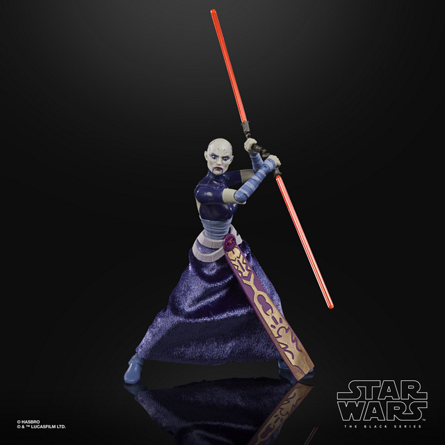 STAR WARS THE BLACK SERIES 6-INCH ASAJJ VENTRESS Figure - oop (1)