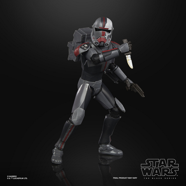 STAR WARS THE BLACK SERIES 6-INCH HUNTER Figure - oop (3)