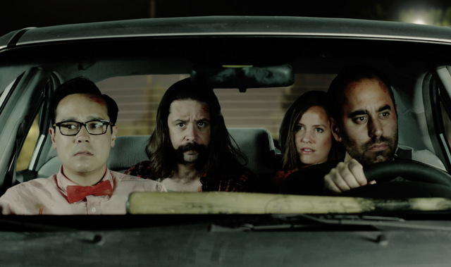 cicada movie review - in the car