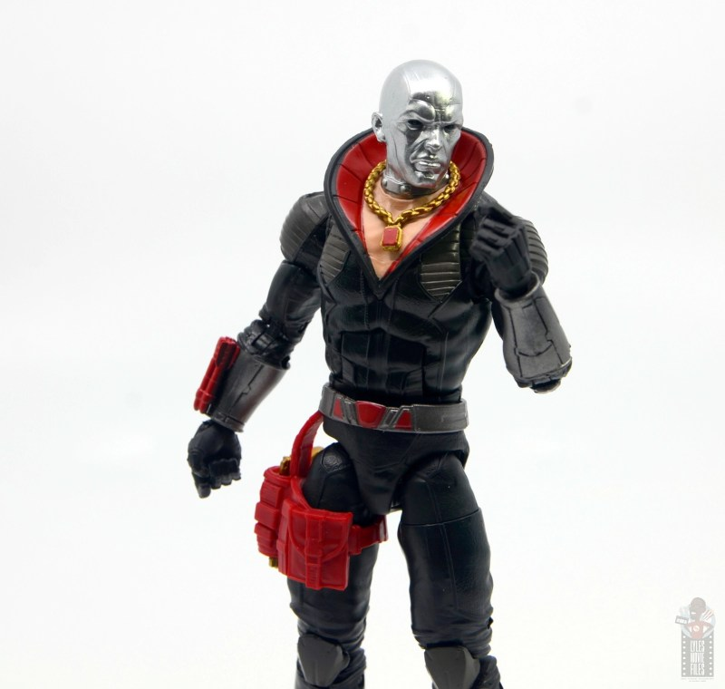 gi joe classified series destro figure review -fist up