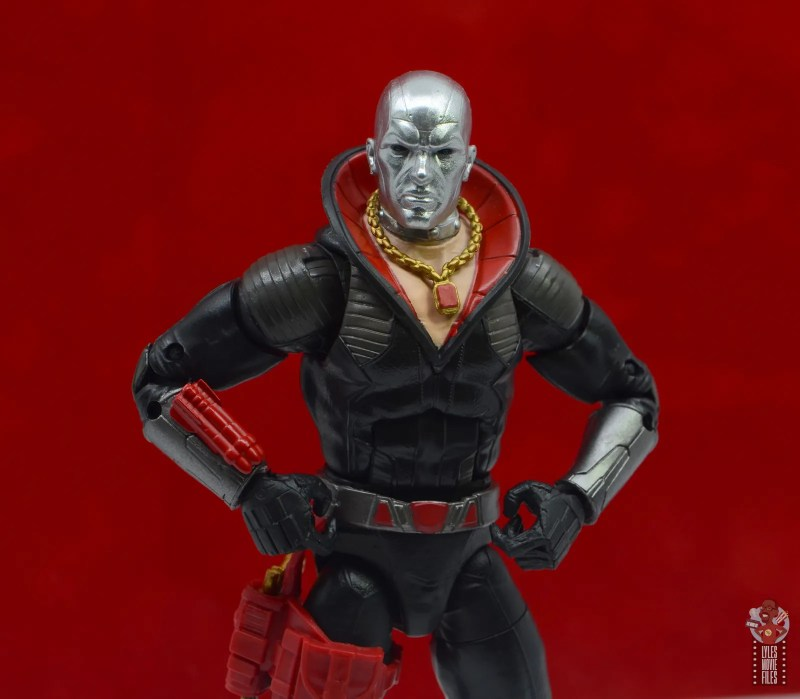 gi joe classified series destro figure review -hands on hips