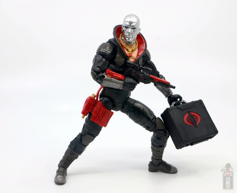 gi joe classified series destro figure review -holding briefcase