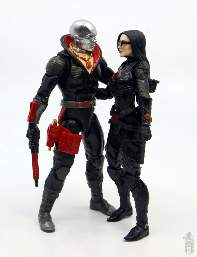 gi joe classified series destro figure review -quality time with baroness