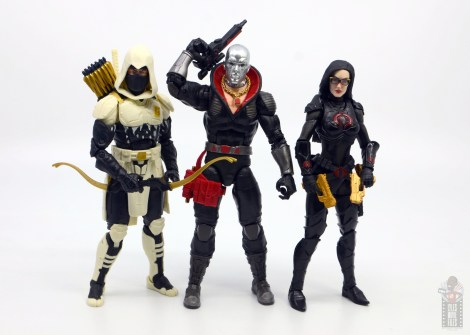 gi joe classified series destro figure review -with storm shadow and baroness