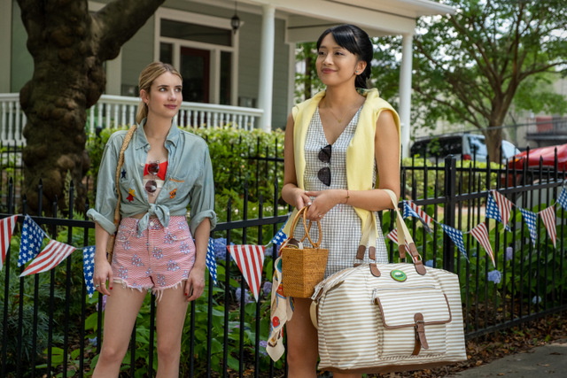 holidate movie review - sloane and liz
