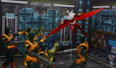 marvel legends falcon figure review -closing in on hydra