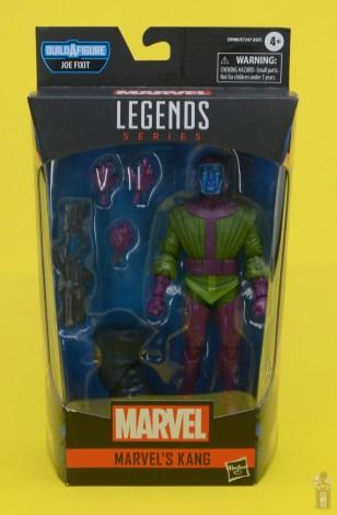 marvel legends kang figure review - package front